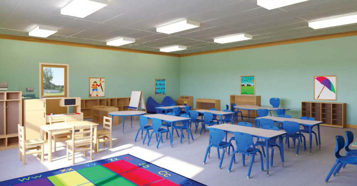 A few tips for designing a perfect pre-school classroom